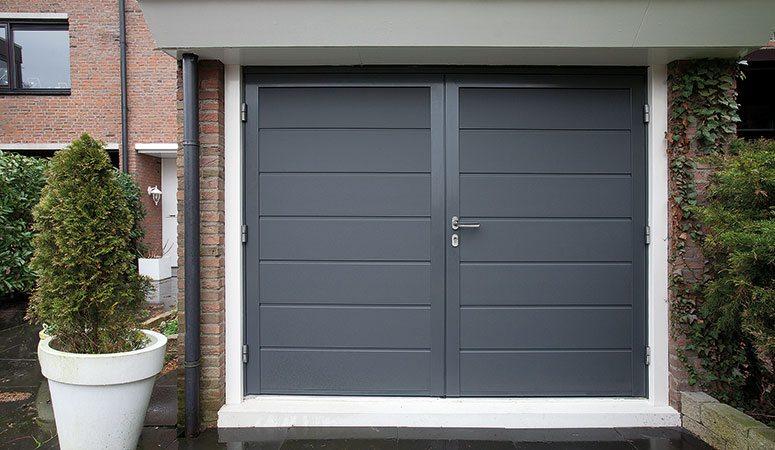 New Openslaande garagedeuren | Betuwse Deuren B.V. @SI83